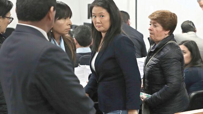 Corte de Perú reduce prisión preventiva a Keiko Fujimori; saldrá libre en el año 2020