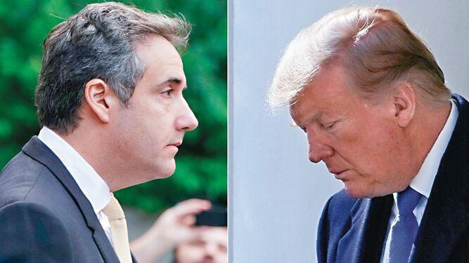 Donald Trump es 'racista, estafador y tramposo', afirma Cohen