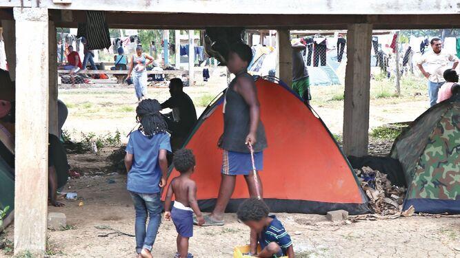 Niños, el rostro cruel de la migración en  la provincia de Darién