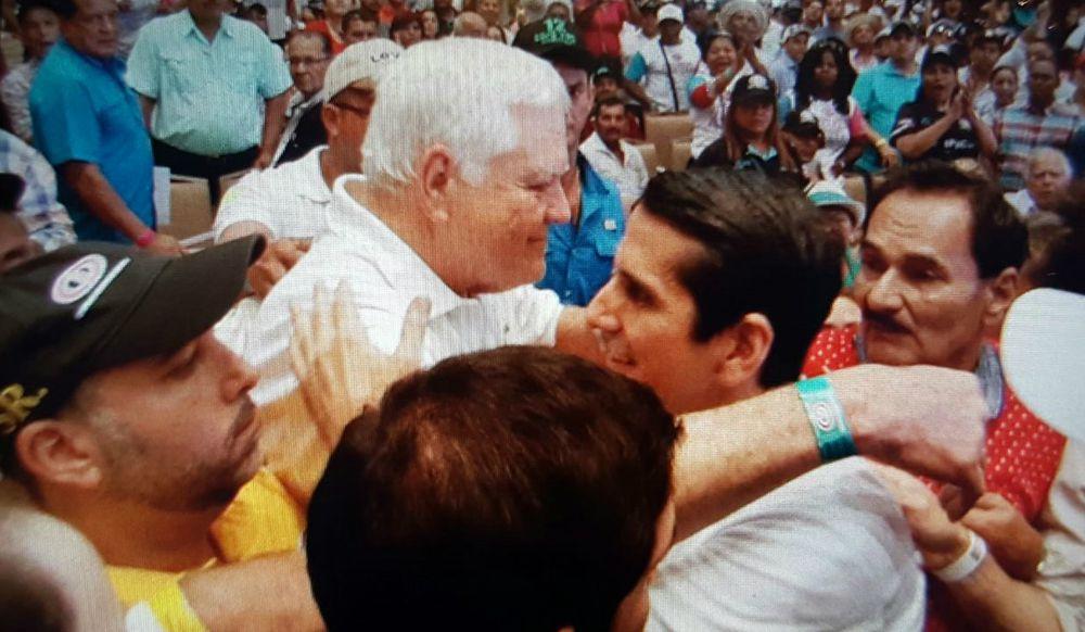 Rómulo Roux arrebata la presidencia de Cambio Democrático a Ricardo Martinelli