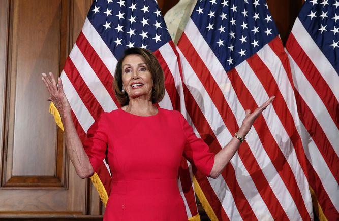 Nancy Pelosi, la mujer más poderosa de Estados Unidos
