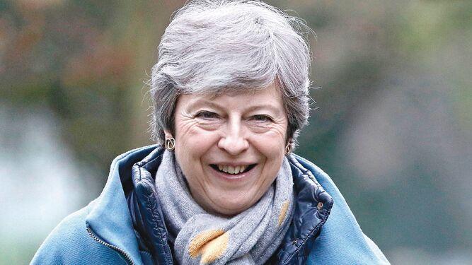 Theresa May estudia su última ficha para lograr el 'brexit' este mes