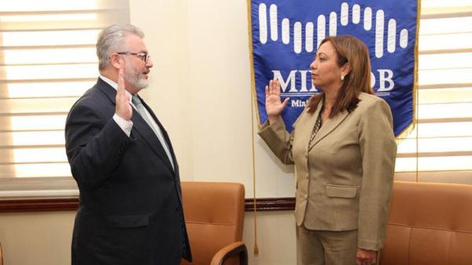 Ceila Peñalba toma posesión como fiscal electoral suplente