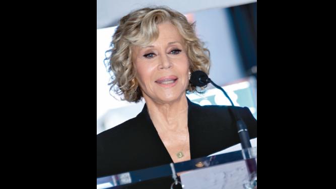 Actriz Fonda promete protestas todos los viernes