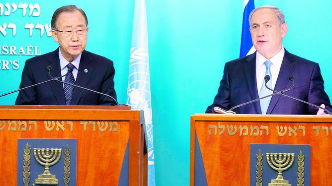 ONU llama al diálogo a Israel y Palestina