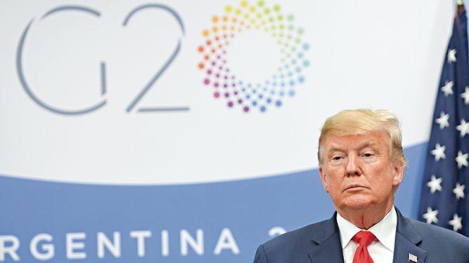 Trump dice que los lazos entre China y Estados Unidos dieron un 'gran paso hacia adelante'