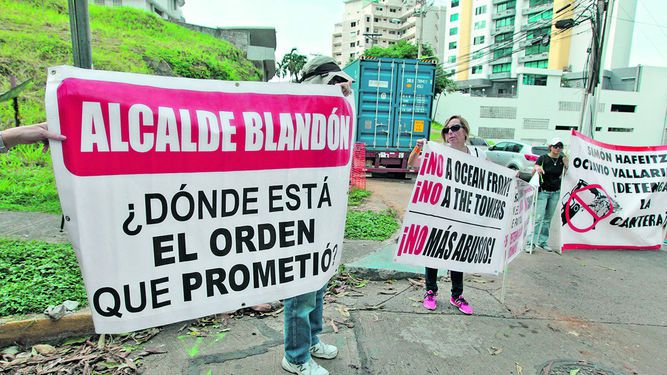 Vecinos de Paitilla piden solución