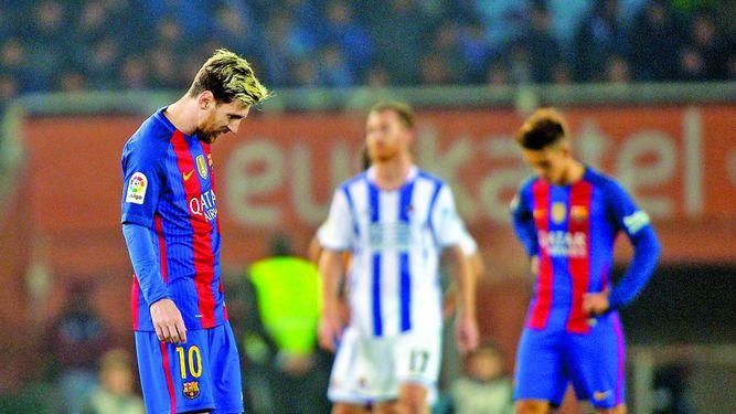 El Barça se aleja del Madrid