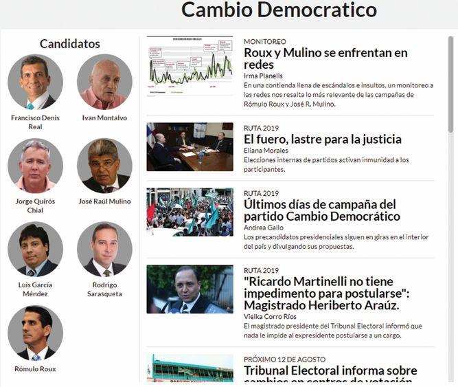 Descubra a los precandidatos presidenciales de CD