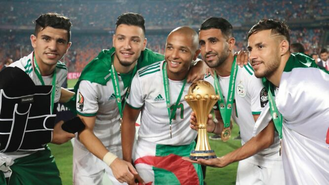 Argelia se corona campeona de África