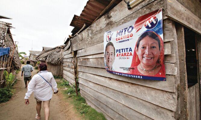 Petita Ayarza: primera mujer gunadule en la Asamblea Nacional