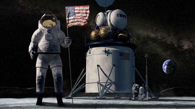 NASA pide a la industria espacial presentar ideas para módulo de alunizaje