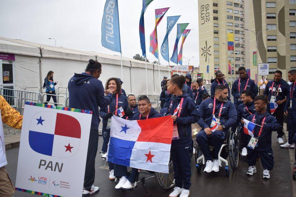 Delegación panameña se hace presente en los Juegos Parapanamericanos