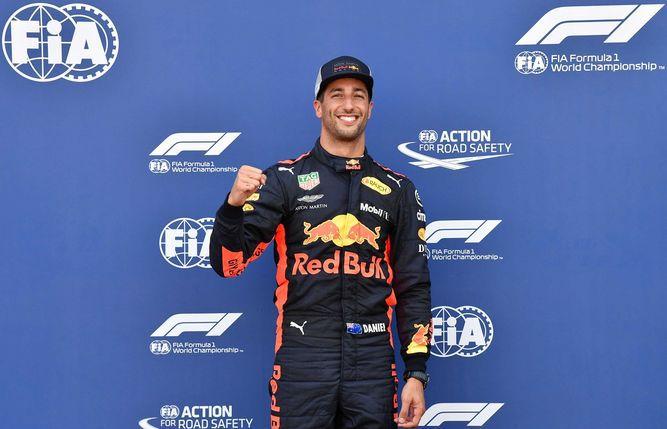 Daniel Ricciardo logra la 'pole position' del Gran Premio de Mónaco