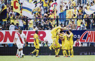 América sigue firme en la Liga mexicana