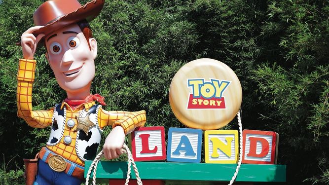 Disney inaugura parque temático sobre 'Toy Story'