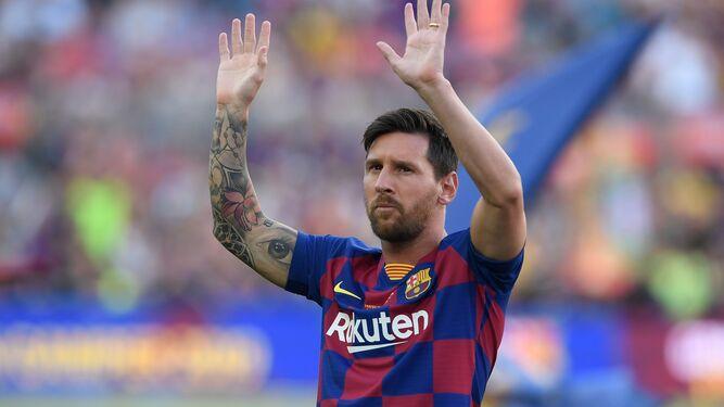 Messi se reincorpora al entrenamiento colectivo del Barça