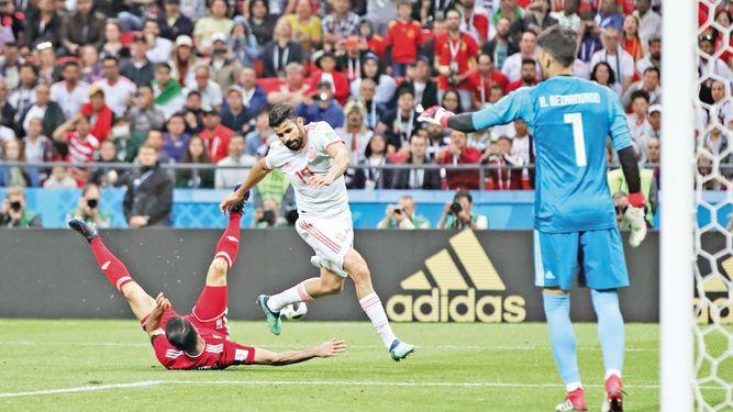 Diego Costa volvió a salvar a España