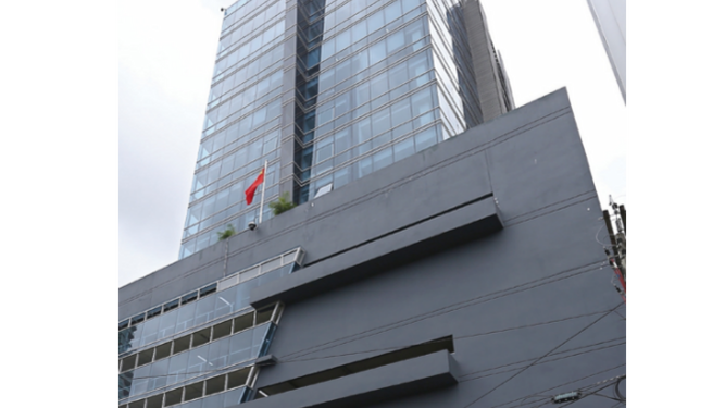 Embajada china se muda