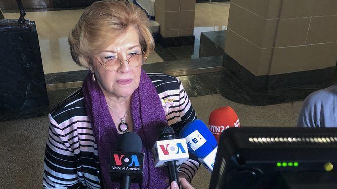Esmeralda Arosemena de Troitiño aspira a la reelección en la CIDH