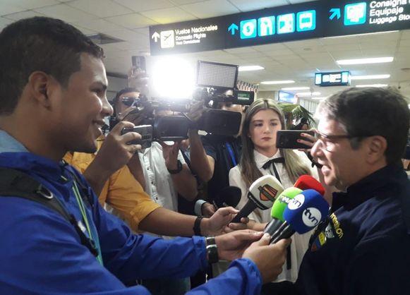 Bolillo Gómez dice que está contento de regresar a Panamá