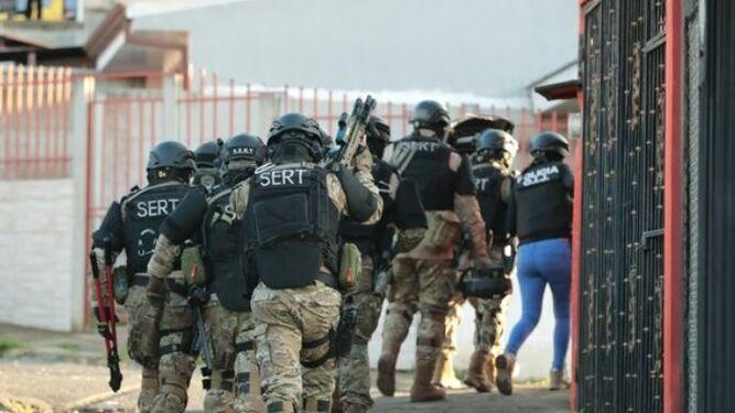 Siete detenidos en Costa Rica por dos atentados con explosivos