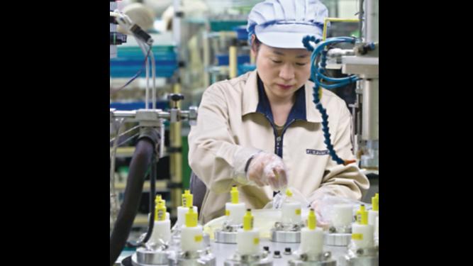 Actividad manufacturera vuelve a crecer en Japón