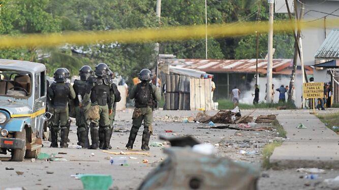 Víctimas de enfrentamientos en Bocas del Toro piden que les extiendan subsidio