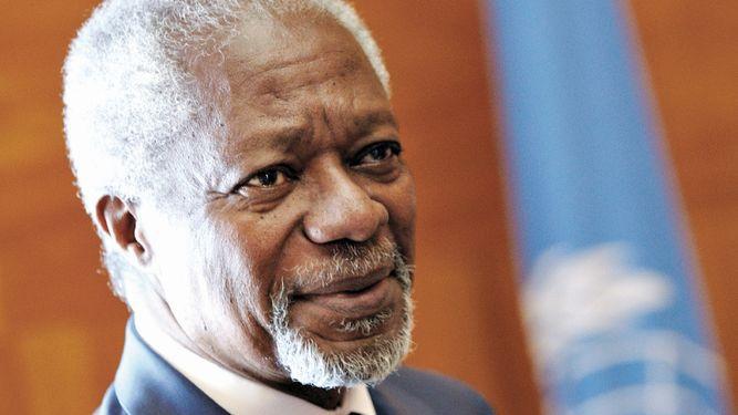 Muere Kofi Annan, nobel de la Paz y exsecretario de Naciones Unidas