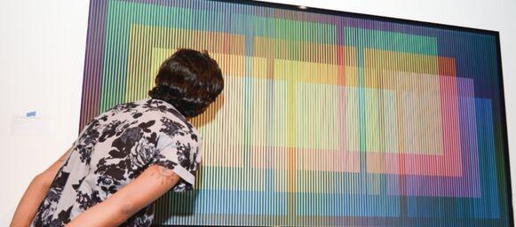 Cruz-Diez : El color haciéndose, desde hoy en el MAC Panamá