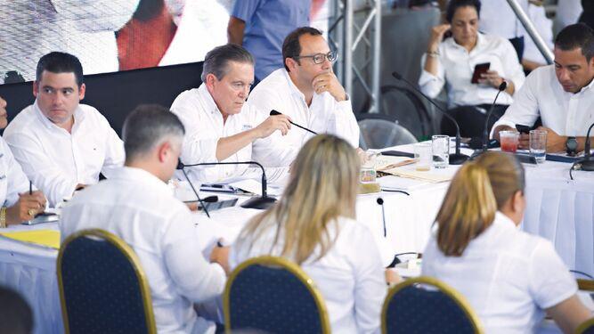 Presidente Cortizo promete mil 500 empleos y acelerar obras