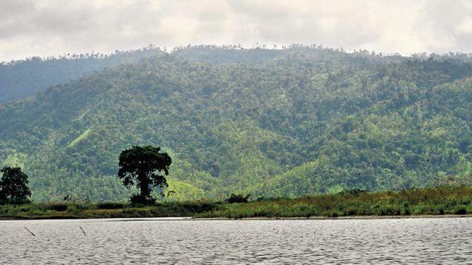 El Ministerio de Ambiente verifica los límites del humedal San San Pond Sak