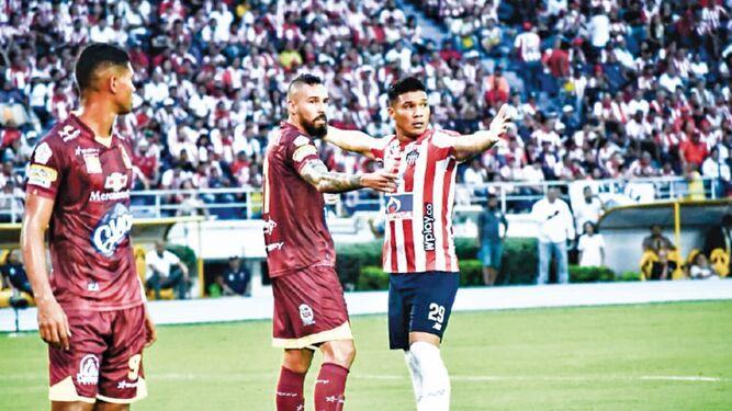 Tolima y Petrolera pisan duro en ronda semifinal colombiana
