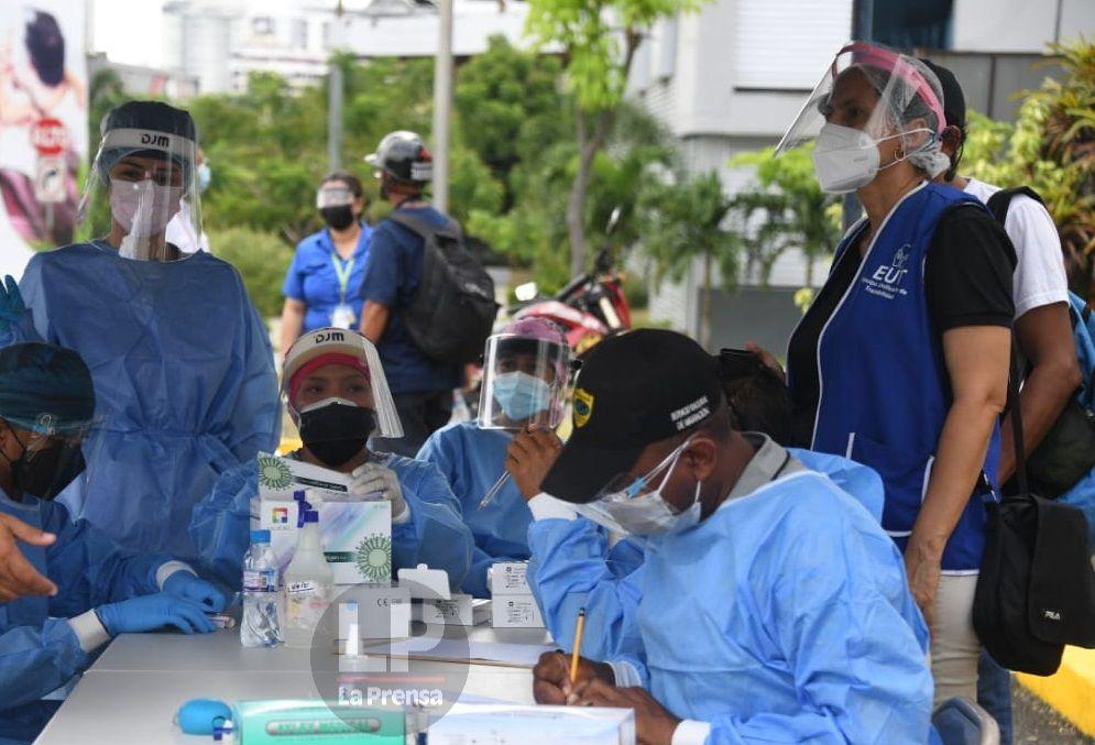 OPS: repunte de casos del coronavirus alcanza a siete regiones del país