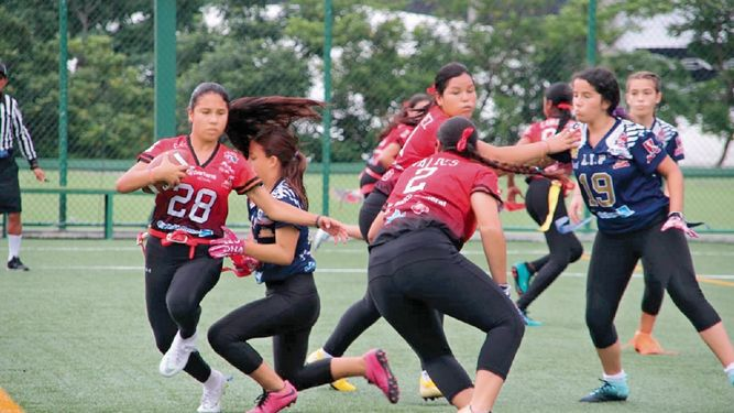 Panthers, en 'playoffs' de la 'flag varsity'