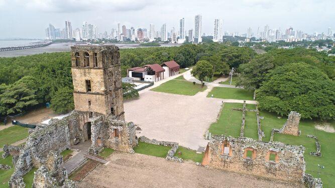 Panamá Viejo se engalana para su aniversario