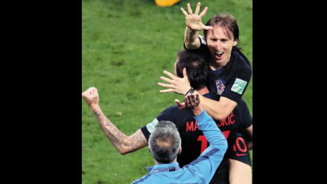 Croacia disputará la final con Francia
