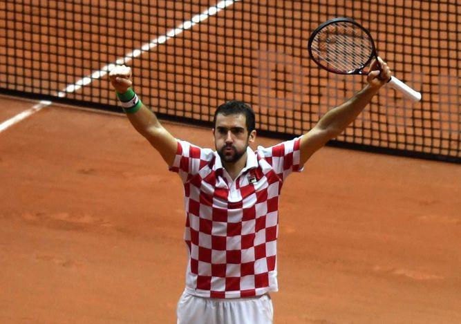 Croacia domina final de la Copa Davis