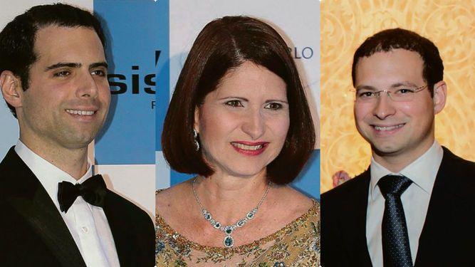 Cancelan visa de Estados  Unidos a Marta Linares de Martinelli y a sus hijos, Ricardo y Luis Enrique