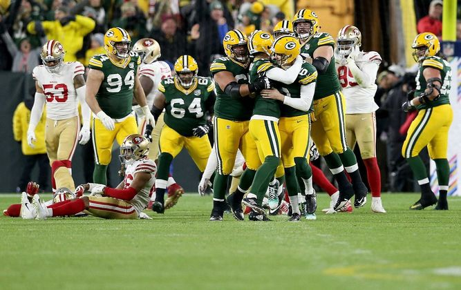 Crosby se redime y Packers ganan