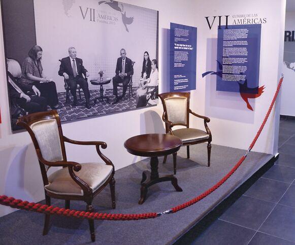 La diplomacia hecha museo