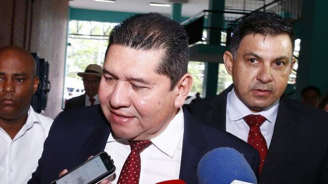 Jueza pospone audiencia de imputación a Rubén De León, hasta que la CSJ decida competencia
