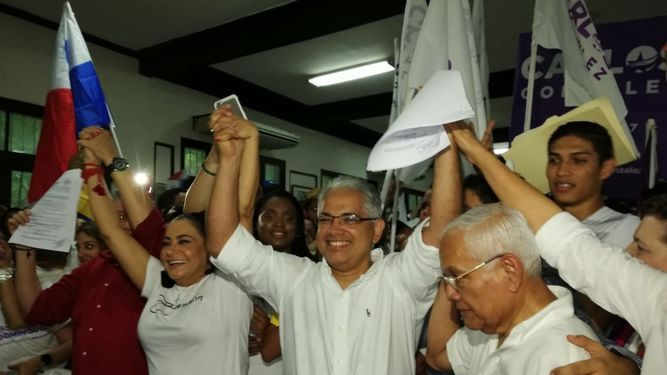 Alcalde José Isabel Blandón presenta su precandidatura presidencial