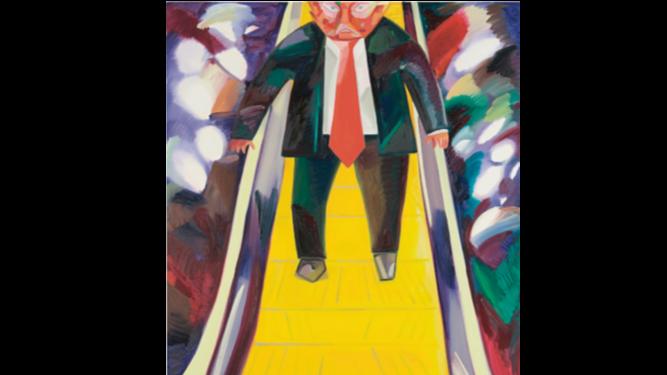 Pintura de Donald Trump podría venderse en $750 mil