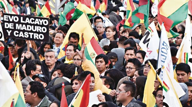 Opositores bolivianos pedirán a la CIDH que frene candidatura de Evo Morales