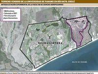 Rector de la Universidad de Panamá cede valiosas tierras