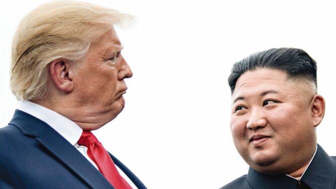 Donald Trump, criticado tras histórica visita a Corea del Norte