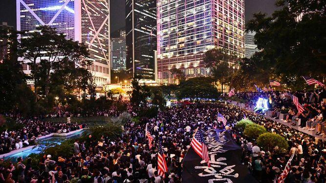 China tilda de 'injerencia' la postulación del pueblo de Hong Kong al Nobel de Paz 2020