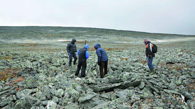 Encuentran espada vikinga bien preservada