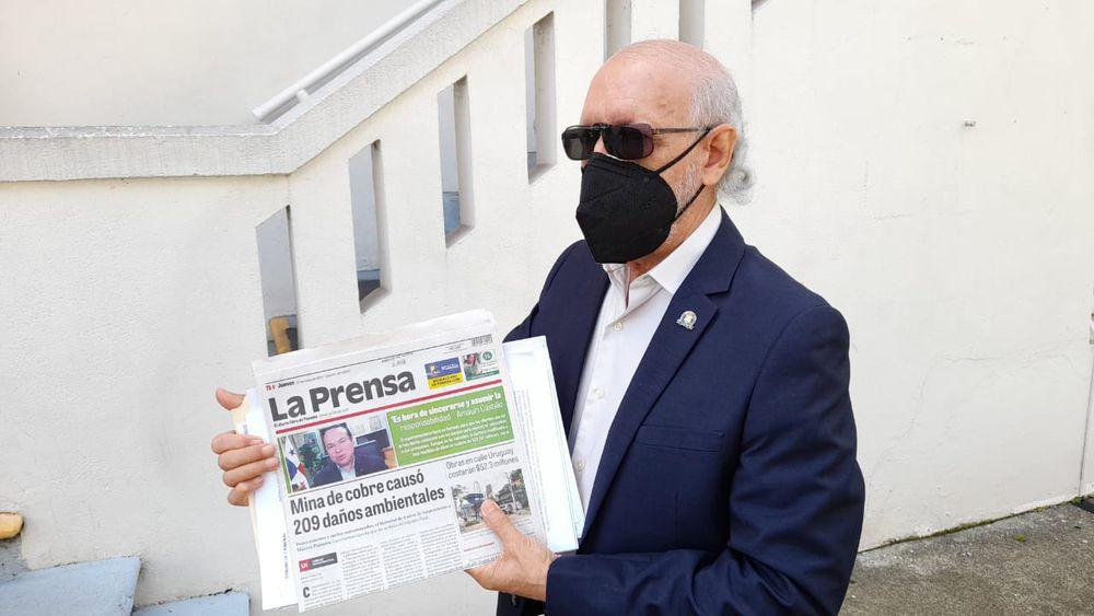Denuncia criminal contra Minera Panamá y el ministro de Comercio, por posible delito contra el ambiente